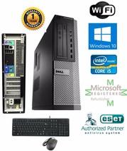Fast Dell Optiplex Pc Desktop i5 2500 Quad 3.3GHz 4GB 1TB Windows 10 Pro 64 - $478.56
