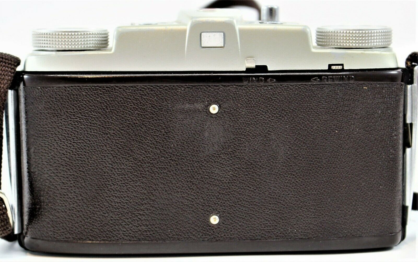 Kodak Pony 135 Camera With Kodak Leather Field Case Untested Free Shipping image 4