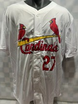 Scott Rolen st Louis Cardinaux Baseball MLB Jersey Homme Taille XL Stadi... - $21.44