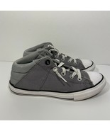 Converse Chuck Taylor All Star Axel Gray Mid Top Sneakers Junior Size 4 ... - $27.71