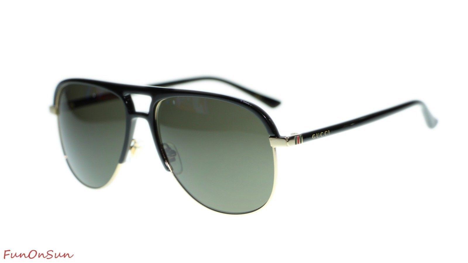 b00524fb1c NEW Gucci Men s Sunglasses GG0292S 001 Black and 47 similar items. 10