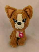 "Mattel Barbie Dog Plush Puppy 7"" Just Play Stuffed Animal Toy - $5.36"