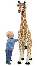 Melissa & Doug Giraffe Giant Stuffed Animal Over 4 FT Tall 2106 - $84.14
