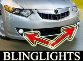 Xenon Halogen Fog Lamps Driving Lights for 2009-2010 Acura TSX 09 10 - $99.77