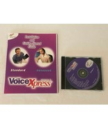 Voice Xpress Advanced Version 4 PC Computer Software Disk Manual Guide - $9.99