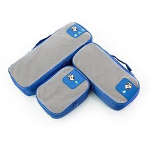 Heys PACKiD Packing Cube Organization System 3 Piece Set Blue 30073-0004-00 - $377,46 MXN