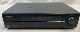 Sharp XA-705 Professional Series VHS VCR Tested! Comes with RCA cables EB-4138 - $53.20