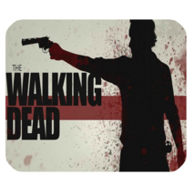 Mouse Pad The Walking Dead Movie Zombie Scary Horror Design Animation Fantasy - $9.00