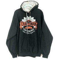 Craftsman Tools Hoodie Sweatshirt Mens  L Black Warm Heavy Rugged image 1
