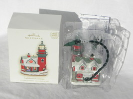 2008 Hallmark Keepsake Lighthouse Greetings Series Lighted Christmas Orn... - $19.99