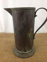 "Vintage Antique 8"" Copper Garden Water Containe... - $26.68"