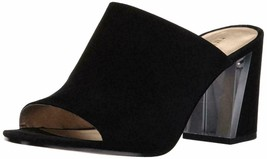 Nine West Gemily Mule Black Suede, Size 6.5 M - $54.44