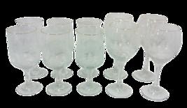 Winter Trees Wine Glasses Set of Ten - $31.54