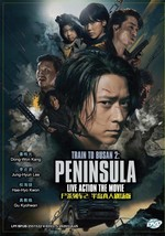 Korean Movie: Train To Busan 2: Peninsula DVD English Subtitle Ship From USA