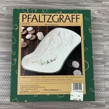 Pfaltzgraff Winterberry Serving Plate Stocking 10 In Teddy Bear Candy Nut Dish  - $20.00