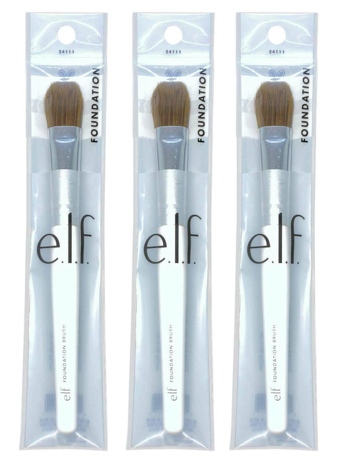 LOT of 3,  ELF Foundation Brush #24111 - NEW - $10.98