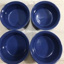 BLUE Corningware Creations Stoneware Ramekins Set of (4) 7 oz - $19.75
