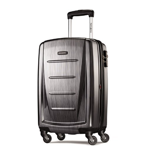 Samsonite Winfield 2 3PC Hardside 20/24/28 Luggage Set, Charcoal
