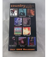 Country Video Monthly July 1993 Releases Country Music VHS - $12.00