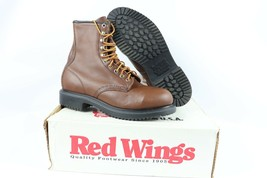 Vintage Nuovo Red Wing Shoes Uomo 8D 2233 Supersole 20.3cm pelle Acciaio... - $385.38