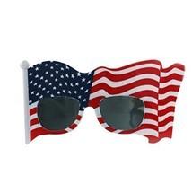 BinaryABC American Flag Sunglasses, Patriotic Glasses, Party Eyewear, 4t... - €11,02 EUR