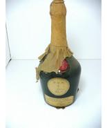 Bottle BENEDICTINE  DOM  B &B Green Glass w Wax Seal & Paper - $250.00