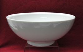 "STUDIO NOVA China - SIMPLICITY ALL WHITE Pattern - 8"" Round SERVING/ PAS... - $25.95"