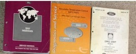 1997 Ford Mustang Gt Cobra Service Shop Manual Set W TEMP & BULLETINS BO... - $108.90