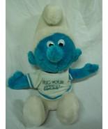 """1979  VINTAGE The Smurfs """"Hug Your Smurf"""" SMURF 10"""" Plush STUFFED ANIMAL... - $24.74"""