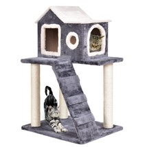 "36"" Tower Condo Scratching Posts Ladder Cat Tree - £80.75 GBP"