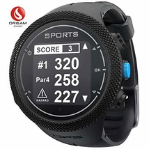 DREAM SPORT GPS Golf Watch Course Rangefinder Measure Shot and Recording... - $196.37 CAD