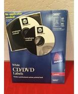 Avery 5692 CD/DVD Label - 52 / Pack - Circle - Sheet - Laser - White - $20.00