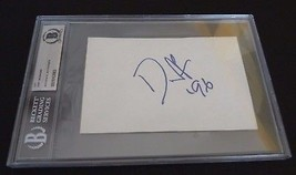 Duff Guns Roses VINTAGE Signed Autographed 4X6 Index Beckett Certified S... - $149.99
