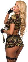 Sexy Military Commando 2 Piece Boot Camp Babe Costume Cami Set image 4