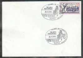 1984 Germany  Hameln Pied Piper special cancel on 1978 stamp - $4.00