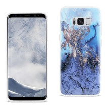 Reiko Samsung Galaxy S8/ Sm Azul Mist Cover In Blue DTPU09-SAMS8BL - $7.99