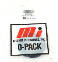 LOT OF 12 NEW MOTION INDUSTRIES 00619851 125 BUNA O-PACKS image 2