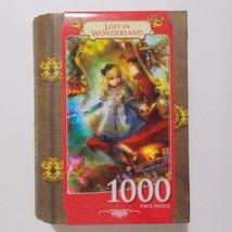 Lost In Wonderland Puzzle Book Box Masterpieces 1000 Pieces - $12.86