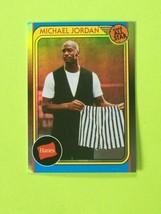 2018-19 Fleer Michael Jordan Hanes 30th Annivers All Star Foil Trading C... - $19.44