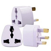 HTTX Grounded Universal Electrical AC Wall Plug Adapter Type G Power Con... - $5.93