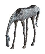 Cyan Design Grazing Horse Metal Sculpture in Bronze Finish - 00432