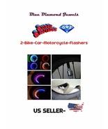 2-pcs-Bike Car Flasher Multi Color Change LED Light Car-Bike Flasher USA... - $5.95