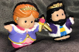 Fisher Price King & Queen Prince Princess Set Lot Htf - $21.28