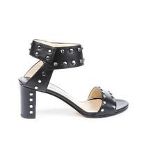 Jimmy Choo Veto Studded Leather Sandals SZ 37 - $365.00