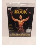 "THE ROCK - MAGAZINE ABOUT DWAYNE ""THE ROCK"" JOHNSON - 2002 - FREE SHIPPING - $18.69"