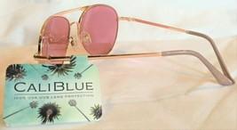 CaliBlue aviator style  Sunglasses 100% UVA - UVB Lens Protection - Rose... - $15.83