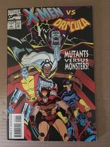 X-MEN VS Dracula #1 Mutant Versus Monster Marvel Comic Book 1993 NM Cond... - $2.69