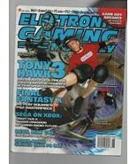 Electronic Gaming Monthly - June 2001 Tony Hawk 3, Final Fantasy X, Sega... - $8.81