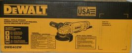 DeWalt DWE402W Paddle Switch Small Angle Grinder with Wheel Corded USA Made image 3