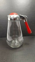 "Vintage Syrup Dispenser Bakelite Top Handle 6 1/2"" - $14.50"